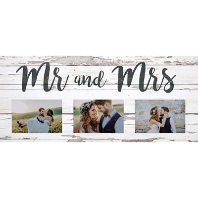 """Mr. and Mrs."" Photo Frame"