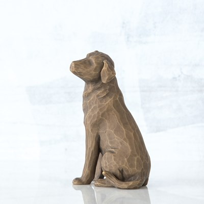 Willow Tree ® Love My Dog - Dark Figurine
