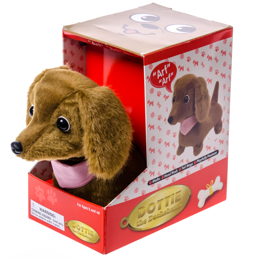 Animated Dottie The Dachshund Toys Motion Er Barrel Old Country