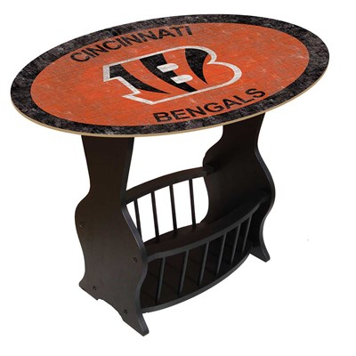 Cincinnati Bengals - Team Color End Table