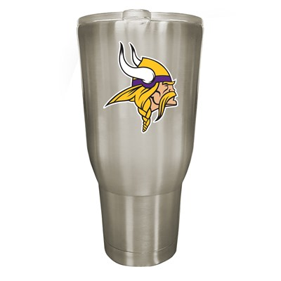Minnesota Vikings 32oz Stainless Steel Tumbler