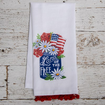 Land of the Free Tea Towel