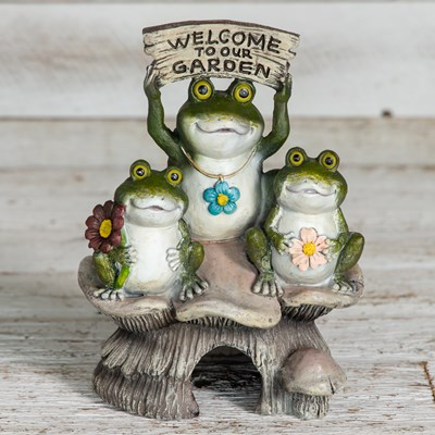 Frog House Decor