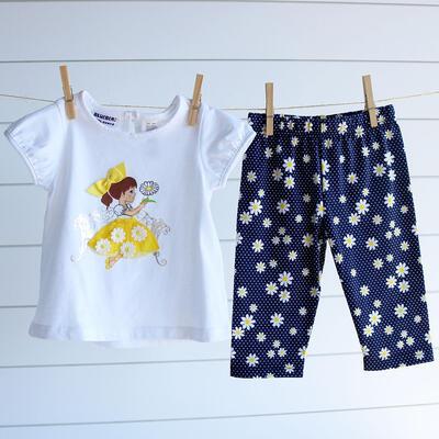 2d17580b47ca Toddler Flower Girl Legging Set