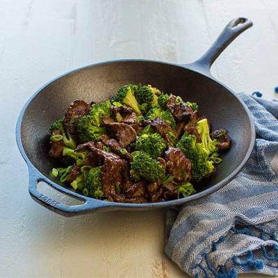 "Lodge ® 12"" Cast Iron Stir Fry Skillet"