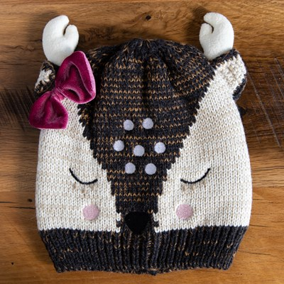 Toddler Deer Face Hat