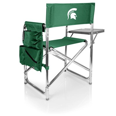 Portable Chair with Tray and Caddy - Michigan State