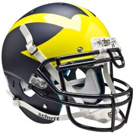 Michigan - Authentic Helmet