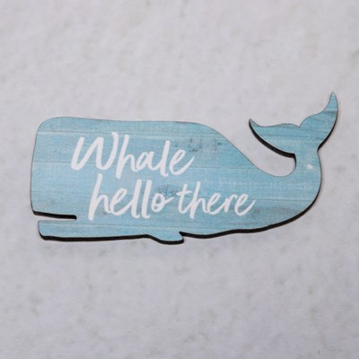 Whale Hello There Magnet