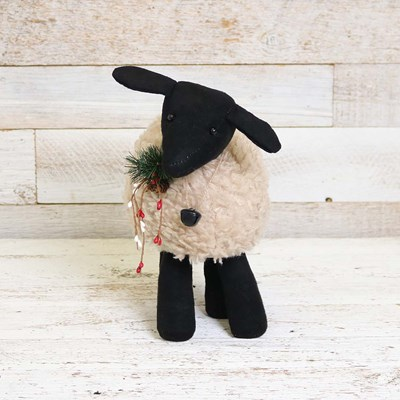 Fabric Sheep Decor