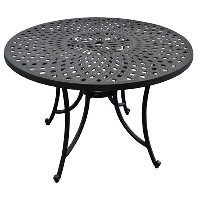 "Sedona Metal 42"" Dining Table"