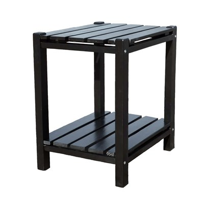 Rutledge Weather-Resistant Side Table - Black