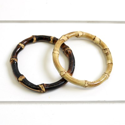 2pc Bamboo Bangle Set