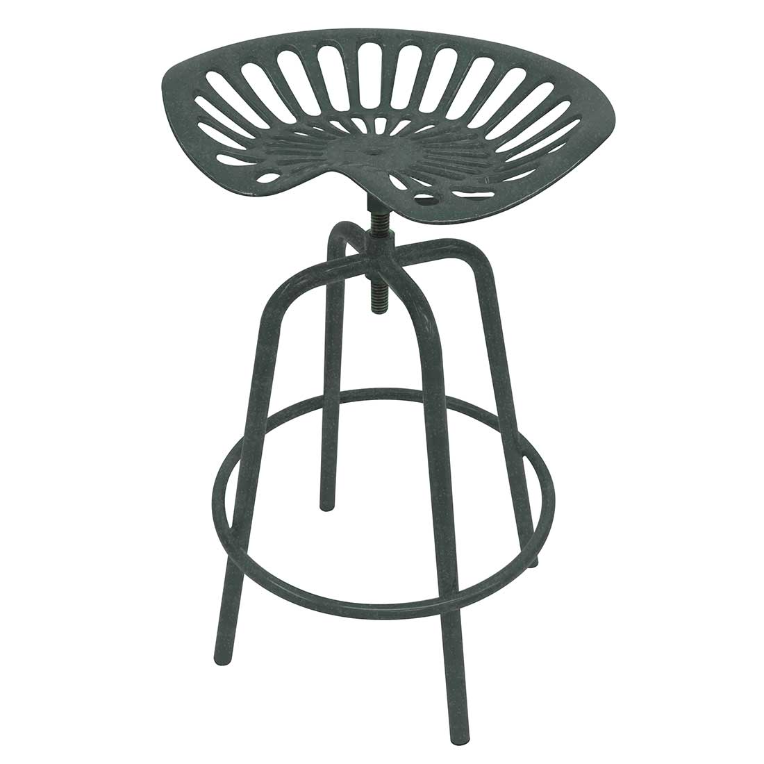 Terrific Tractor Seat Stool Gray Creativecarmelina Interior Chair Design Creativecarmelinacom
