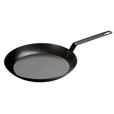 "Lodge ® 12"" Seasoned Carbon Steel Skillet"