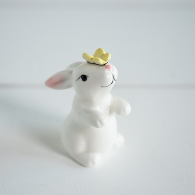 Mini Bunny with Butterfly Salt Shaker