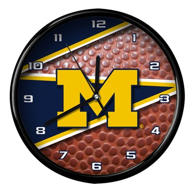 Michigan - Football Clock