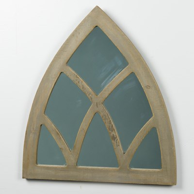 Arched Window Pane Wall Mirror
