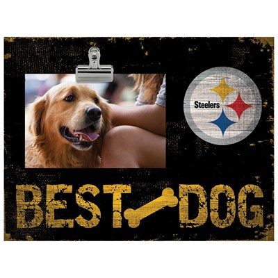 Pittsburgh Steelers - Best Dog Clip Frame