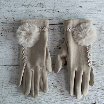 Oh Gussie! Ivory Detail Glove