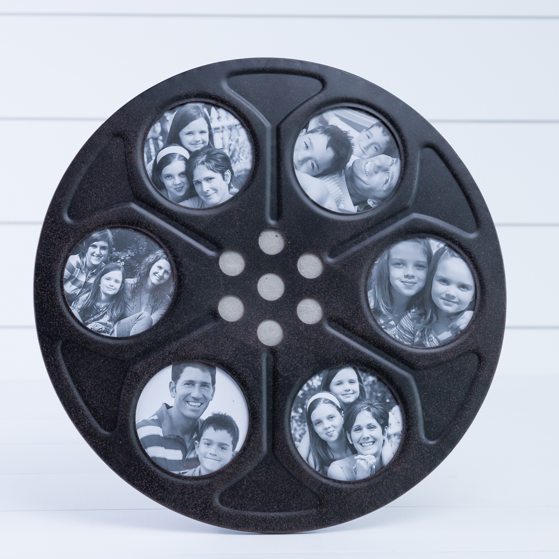 Metal Movie Reel Photo Frame
