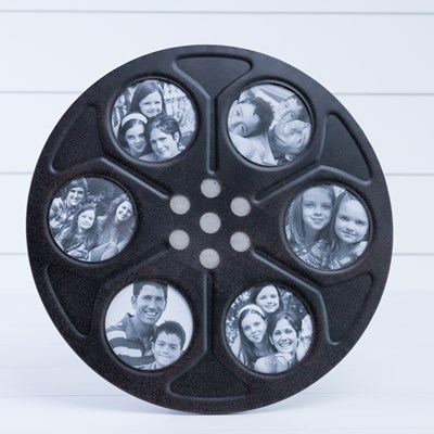 Metal Movie Reel Photo Frame - Large