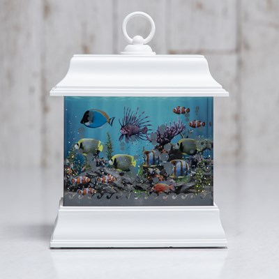 Faux Aquarium Water Globe