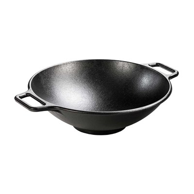 "Lodge ® 14"" Cast Iron Wok"