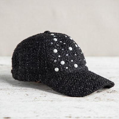 Pearl and Bling Baseball Hat