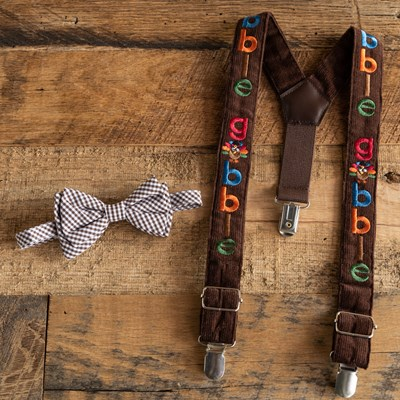 """Gobble"" Suspender Set"