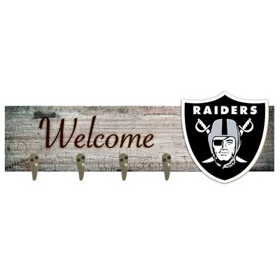 Oakland Raiders - Coat Hanger Art