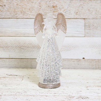 Light Up Acrylic Angel Figurine