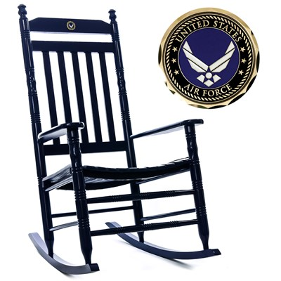 U.S. Air Force Rocking Chair