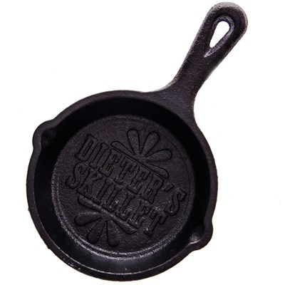 "Lodge ® 3.5"" Cast Iron Mini Skillet - ""Dieter's Skillet"""