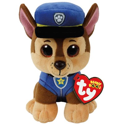 TY paw patrol chase the shepard dog 6 bennie boo