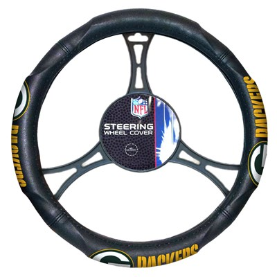 Car Steering Wheel Cover - Green Bay Packers