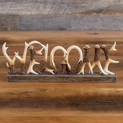 Antler Welcome Decor