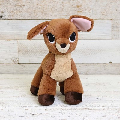 Deer with Eyelashed Plush