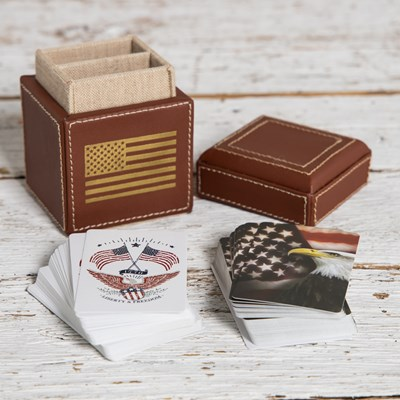 Heritage Card Case and Cards