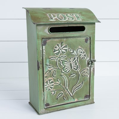 Decorative Metal Mailbox