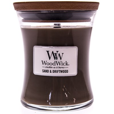 WoodWick ® Sand & Driftwood Medium Candle