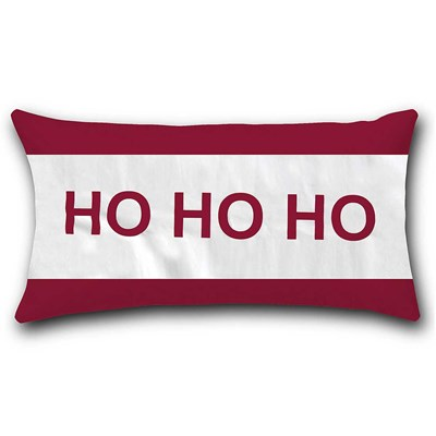 Holly Jolly Decorative Pillow - Hohoho
