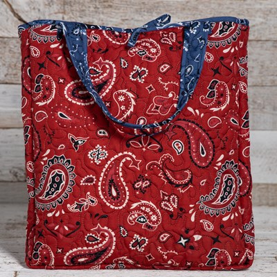 Bandana Throw with Tote