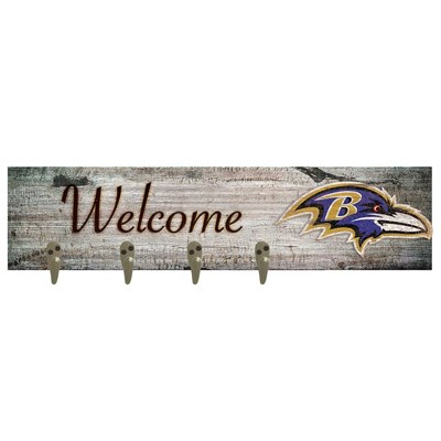 Baltimore Ravens - Coat Hanger Art