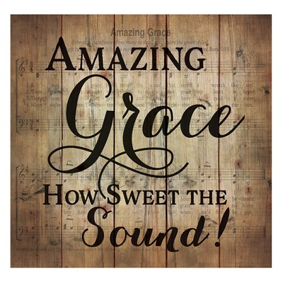 """Amazing Grace"" Pallet Wall Decor"