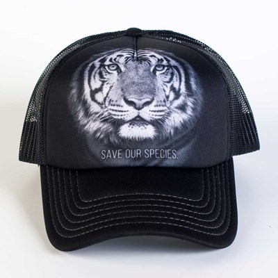 """Save Our Species"" Tiger Trucker Hat"