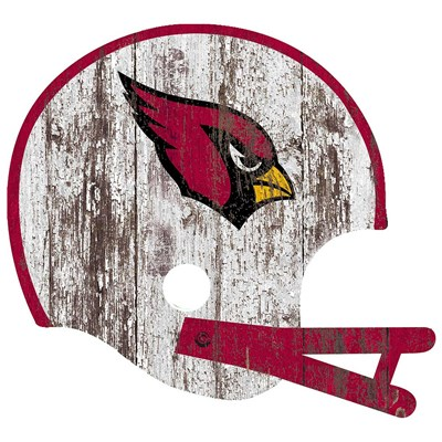 Arizona Cardinals - Distressed Helmet