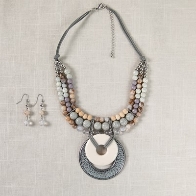 2-Piece Necklace and Earrings Set