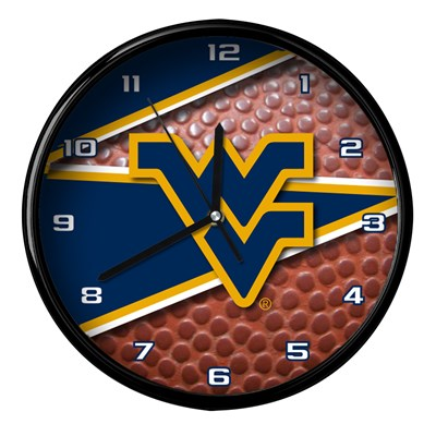 West Virginia - Football Clock