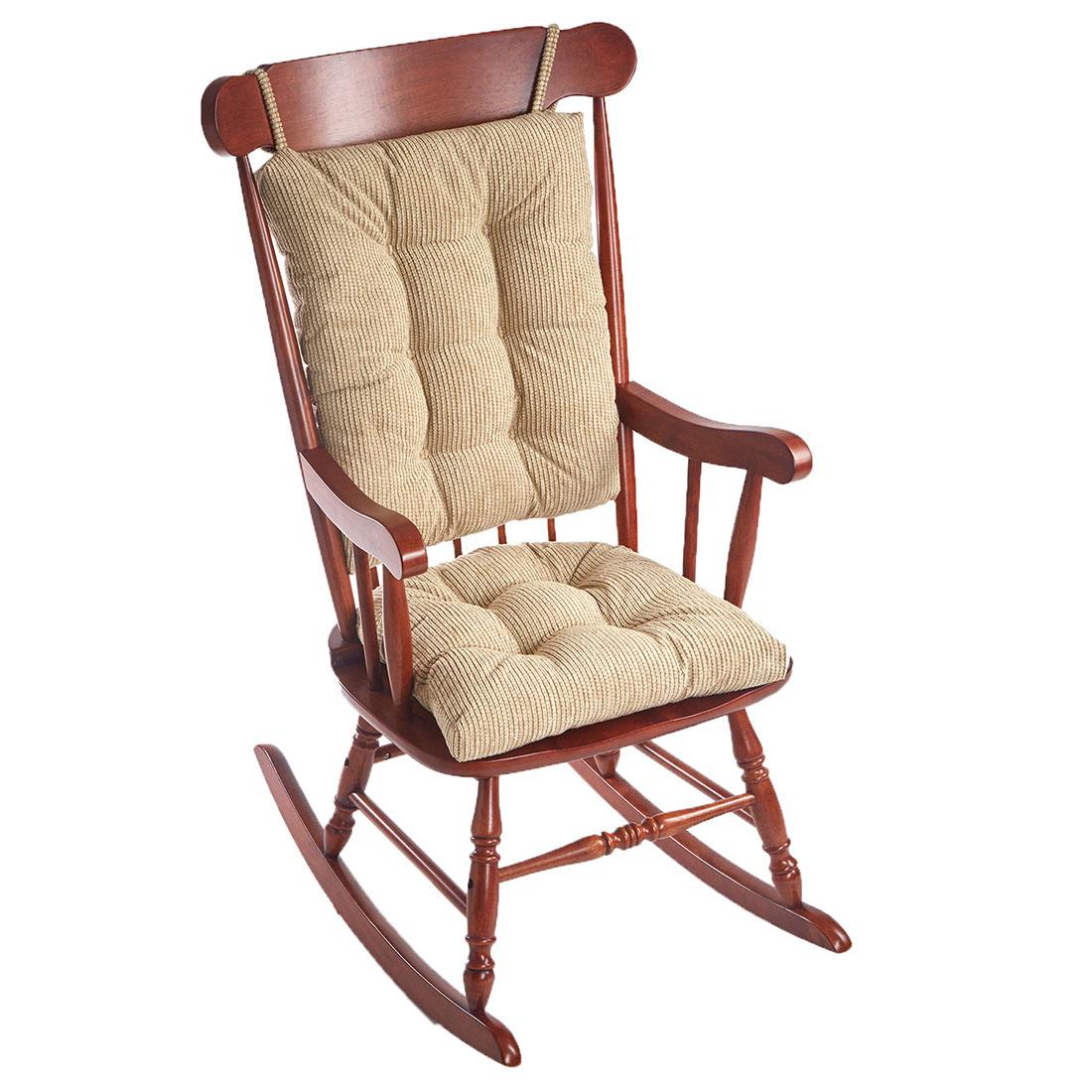 Outwest Tan Universal Rocking Chair Cushion